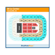 Bi Lo Center Seating Chart Greenville Sc Bon Secours Wellness Arena Formerly Bi Lo Center Events