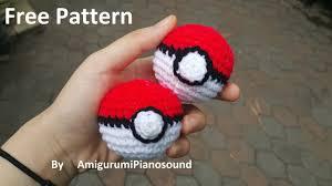Pokeball Crochet Pattern