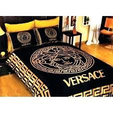 gold bedding king black gold bedding black gold bedding sets classic medusa logo satin black and gold bedding king black