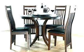 small round wood dining table set and chairs square dark