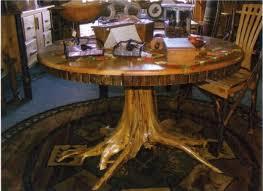 wood stump furniture. Amazing Tree Stump Table Wood Furniture