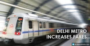 Delhi Metro Increases Minimum And Maximum Fare My India