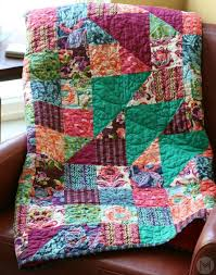227 best Quilts images on Pinterest | Fabric crafts, Gifs and ... & a 5 part free video series teaching you how to make a quilt from start to  finish. This video shows you how to bind your quilt using a straight grain  method ... Adamdwight.com