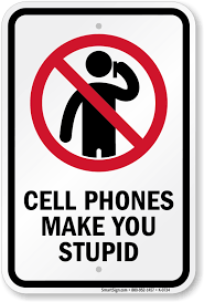 No Cellphone Use Sign Techmell