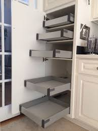 Awesome IKEA Rationell Pull Out Shelves (w/ Dampers) Retrofitted To Non IKEA  Cabinet Pantry Using Existing Shelves.