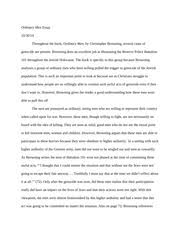 final reflection essay jeffrey barnes world history  3 pages ordinary men essay