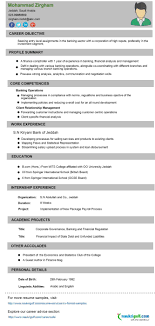 Objective For Resume For Bank Job Resume Bank Job Resume Sample 35