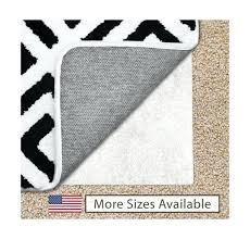 gorilla grip feet non slip area rug pad for carpet ship 5x8 target