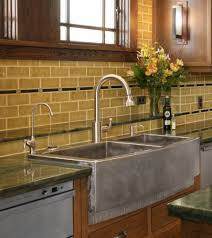 Glass Tiles Kitchen Backsplash Gorgeous Farm Sinks For Kitchen Of Stylish Look Exciting