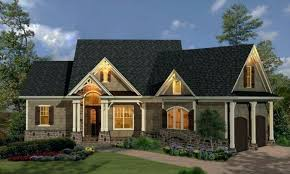 brick cottage home plans house small size