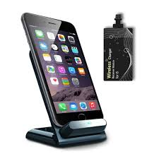 iphone qi charging stand. kosee qi smart wireless charging cradle stand dock for smartphones onogo iphone