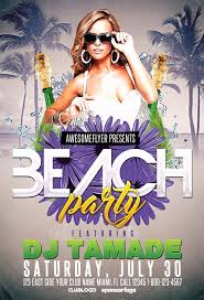 Free Party Flyer Template Mathosproject