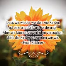 Sonnenblumenkind Sonnenblumenkind Zitate Erich Kästner