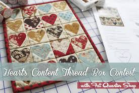laundry basket quilts Archives - The Jolly Jabber Quilting Blog & We have Edyta of Laundry Basket Quilts today on the Jolly Jabber to show  you her NEW Heart's Content Thread Box for Aurifil and a surprise! Adamdwight.com