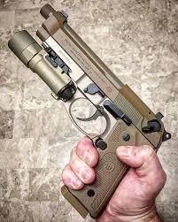 Beretta M9a3 Holster With Light Pin On Beretta 92fs M9