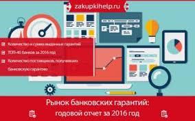 Рынок банковских гарантий годовой отчет за ru Рынок банковских гарантий годовой отчет за 2016 год