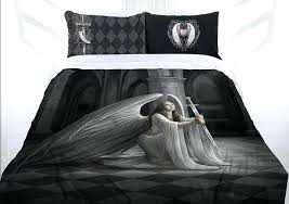 angel bedding stokes the blessing doona cover bed set double queen king angel sword lees dragon