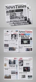 Creative Newspaper Template 30 Professional Indesign Newspaper Templates