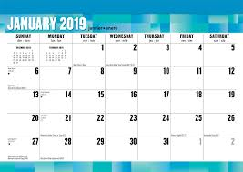 print a calendar 2019 large print 2019 17 x 12 inch monthly desk pad calendar easy to see