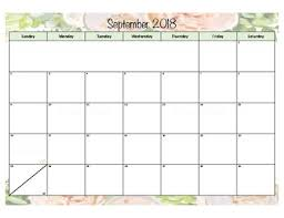 8 5 x 11 calendars printable printable calendar template from 8.5 x 11 calendar template. Floral Calendar 2018 2019 8 5x11 Printable By Procrastination In Primary