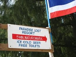 welcome to paradise lost resort the last paradise ko kradan  the