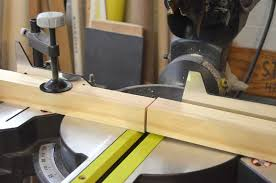 cutting wood to build a rolling cart