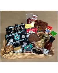 quick view gourmet basket with total beer
