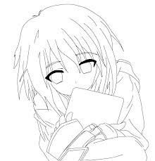 Anime Coloring Pages Cute Anime Coloring Pages Printable