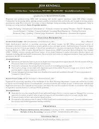 Resume Accounts Payable Clerk Resume