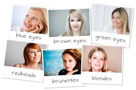 find more makeup tips by eye or hair color