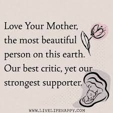 Beautiful Quotes For Your Mother