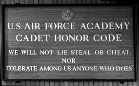 e  the academies honor codes and the duty to blow the whistle