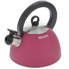 """<b>Чайник Rondell</b> """"<b>Geste</b>"""", со свистком, 2 л <b>RDS</b>-<b>361</b>, цвет красный ..."""