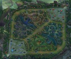 summoner's rift  league of legends inspired map conquest