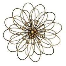 homey design metal flowers wall decor decoration ideas flower art com home s urban for