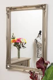 silver antique picture frames. FRENCH SILVER EXTRA LARGE SHABBY CHIC ANTIQUE STYLE MIRROR - 30\ Silver Antique Picture Frames