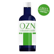 ozn nail polish remover 100ml limited edition green jpg