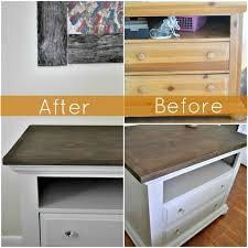 Bedroom Dresser Redo   From Pine To Contemporary. Pine Bedroom  FurnitureBedroom DressersPainting ...