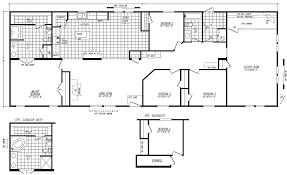 mobile 2 bedroom 2 bath double wide floor plans inspirational 4 bedroom 3 bath open floor plan