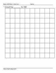100 Counting Chart 100s Chart Worksheets To Teach Counting