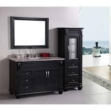 design element hudson 48 single sink vanity set in espresso alternative view 2