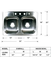 ada kitchen sink requirements kitchen sink ls double bowl kitchen sink kitchen sink requirements ada commercial