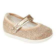 Stride Rite Shoe Chart Infant Girls Stride Rite Lil Layla Mary Jane Size 2 M Gold