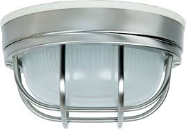 craftmade z394 56 bulkhead stainless steel outdoor small ceiling lighting fixture wall light fixture loading zoom