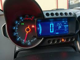 Chevy Sonic Lights On Dash 2013 Chevrolet Sonic Odometer Display Stopped Working