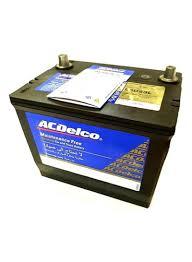 Shop Acdelco 55d23l 60ah Car Battery Online In Dubai Abu Dhabi And All Uae