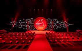 Event Stage Design Stage Design Vodafone Business Event On Behance Concert