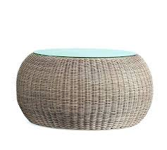 rattan side table wicker coffee round with stools small australia rattan side table