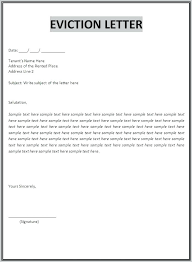 Free Eviction Notices Templates Eviction Notice Form Letter Free Template Alberta Starmail Info