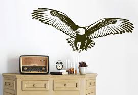 animals  on patriotic vinyl wall art with bald eagle wall decal majestic and patriotic bird vinyl